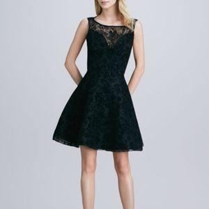 NWT Alice + Olivia Natalia Open-Back Lace Dress